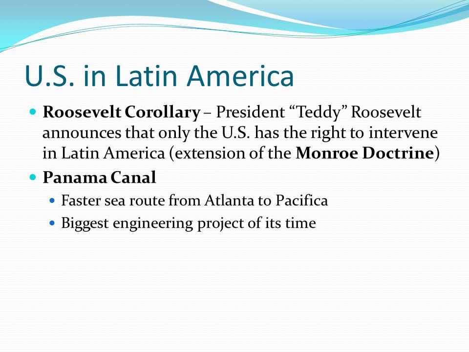 U.S. in Latin America