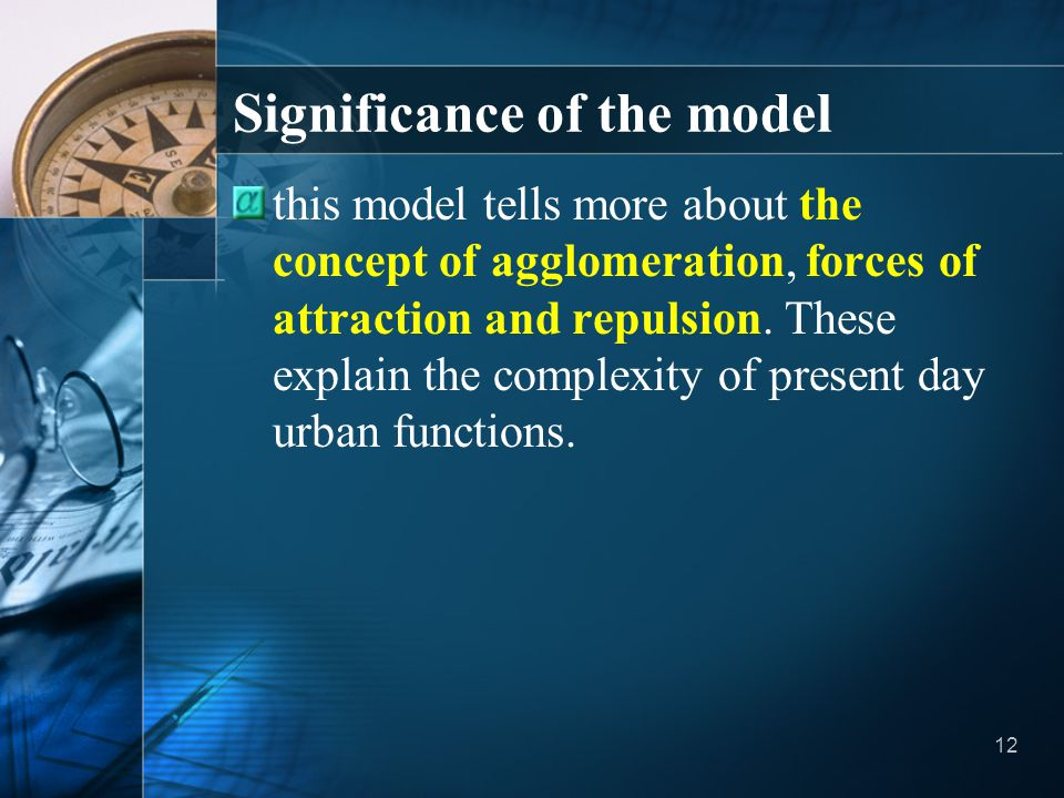 Significance of the model