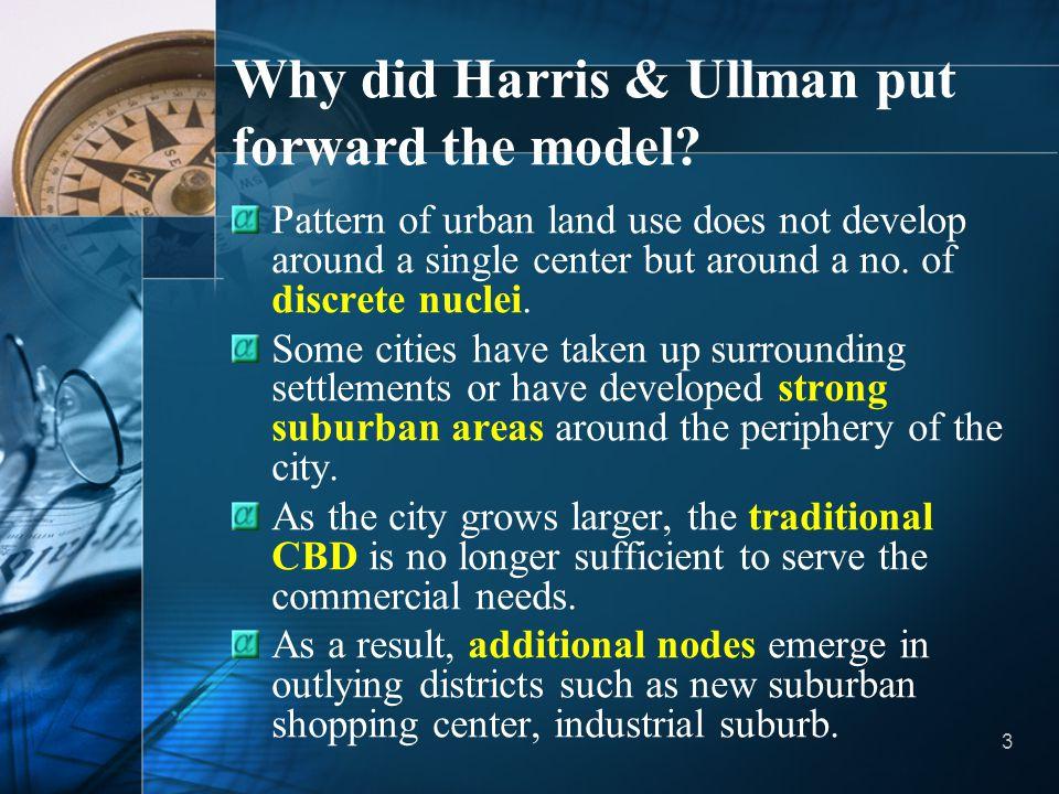 Why did Harris & Ullman put forward the model