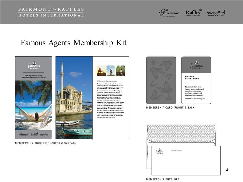 Famous Agents Membership Kit