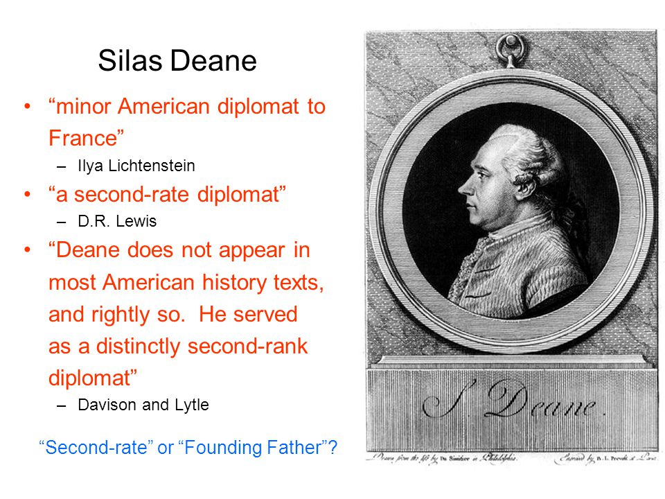 Second-rate or Founding Father