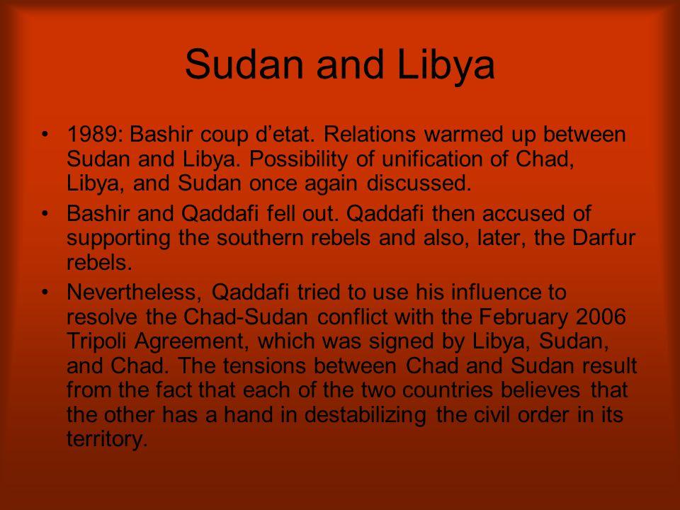 Sudan and Libya