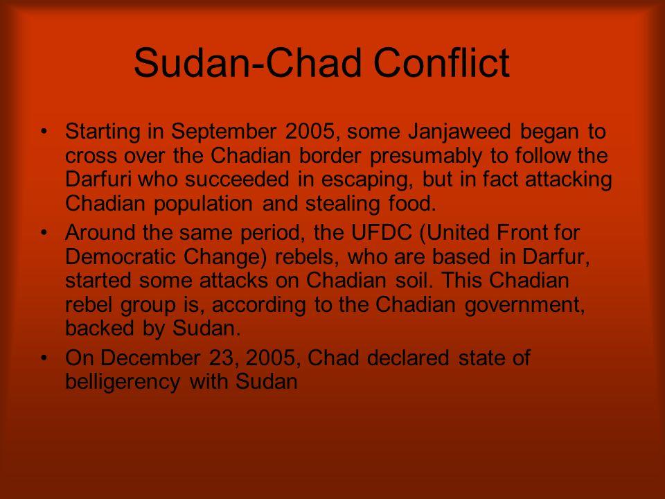 Sudan-Chad Conflict