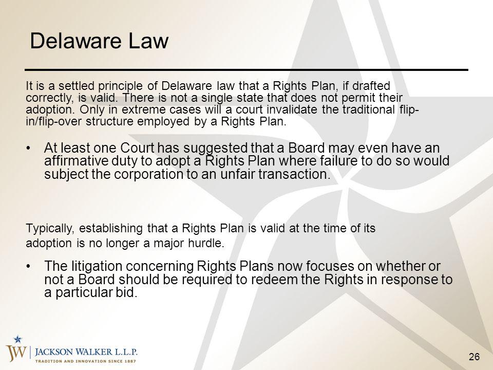Delaware Law
