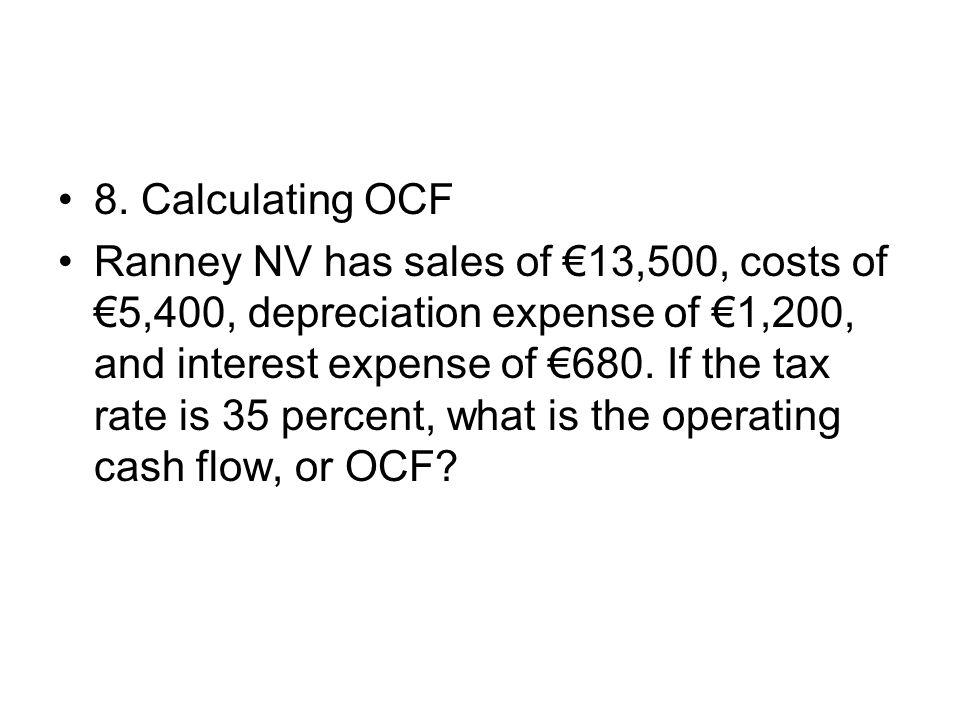 8. Calculating OCF