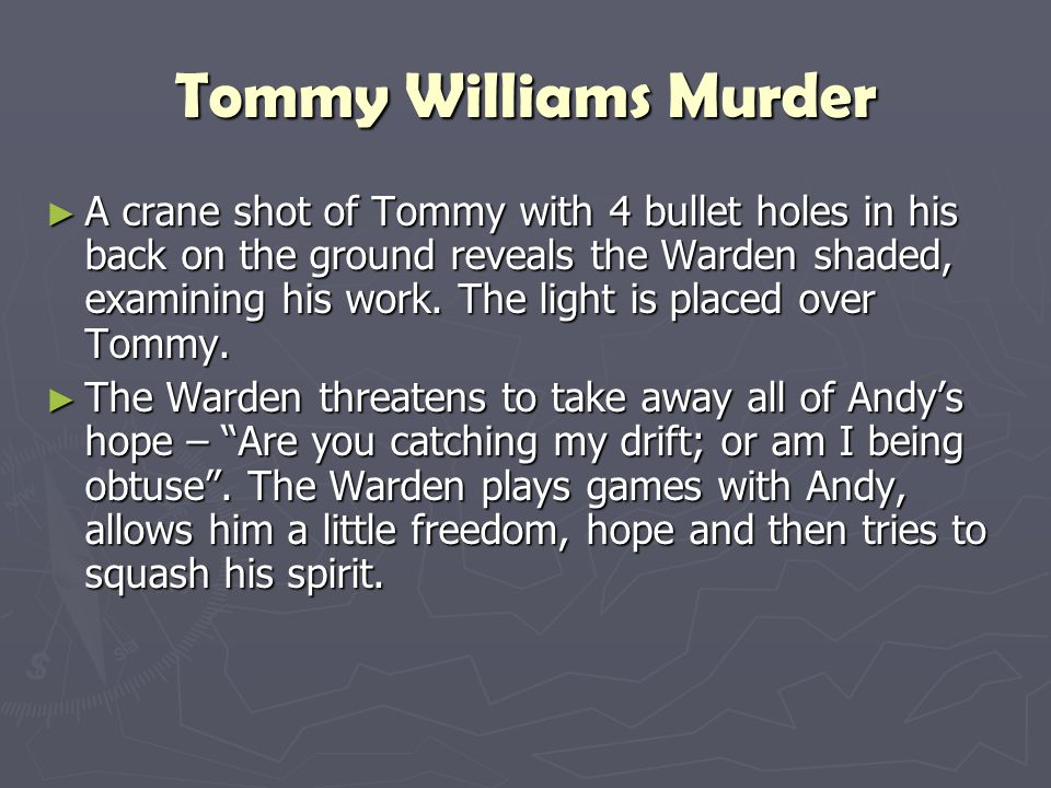 Tommy Williams Murder