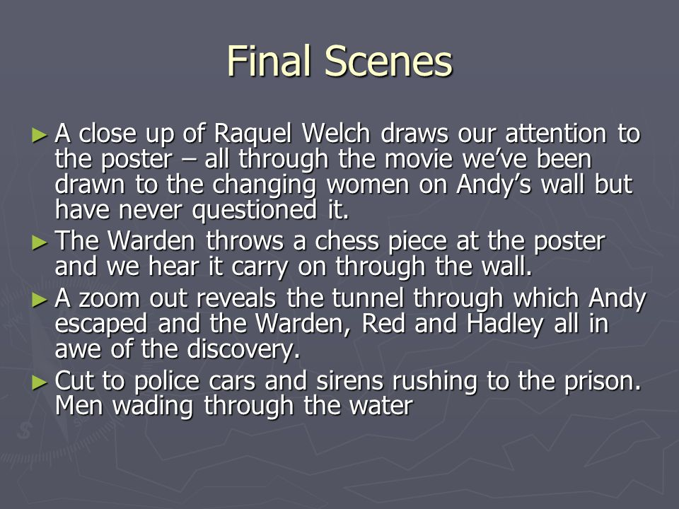 Final Scenes