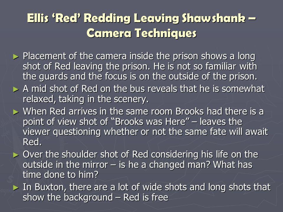 Ellis 'Red' Redding Leaving Shawshank – Camera Techniques