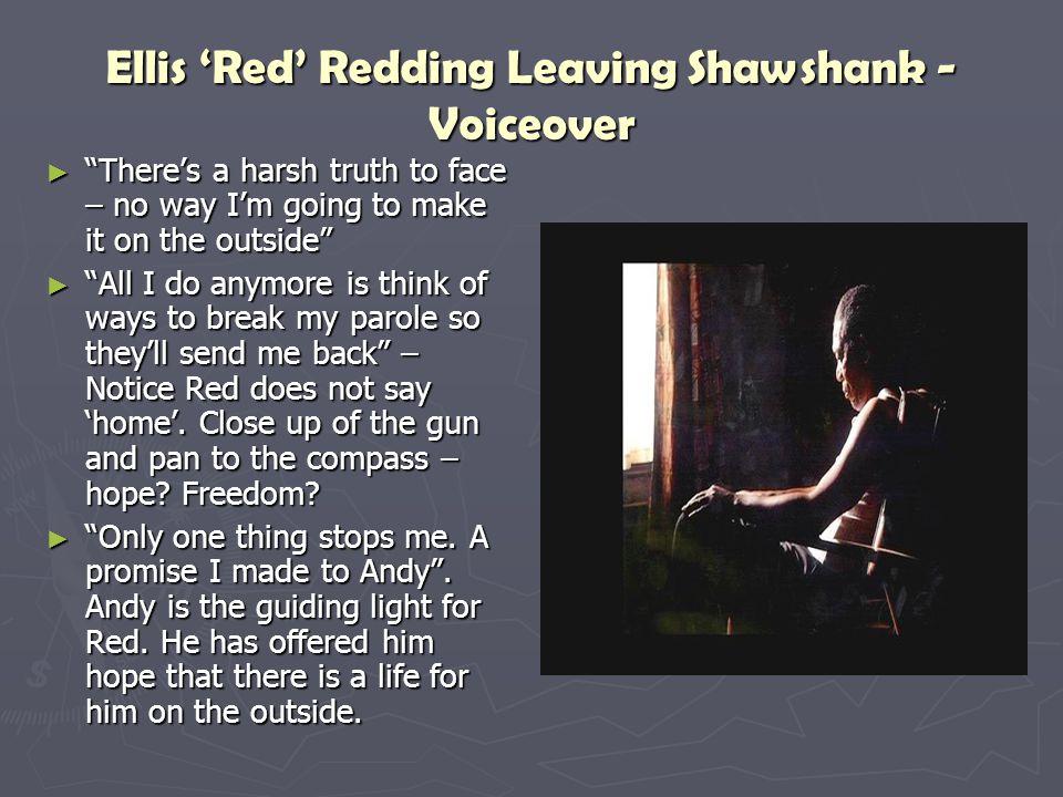 Ellis 'Red' Redding Leaving Shawshank - Voiceover