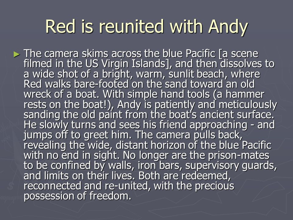 Red is reunited with Andy