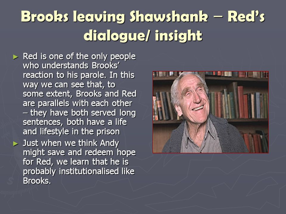 Sociology Behind Shawshank Redemption