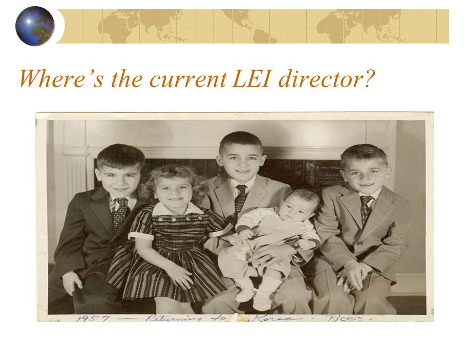 Where's the current LEI director