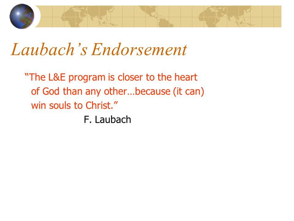 Laubach's Endorsement
