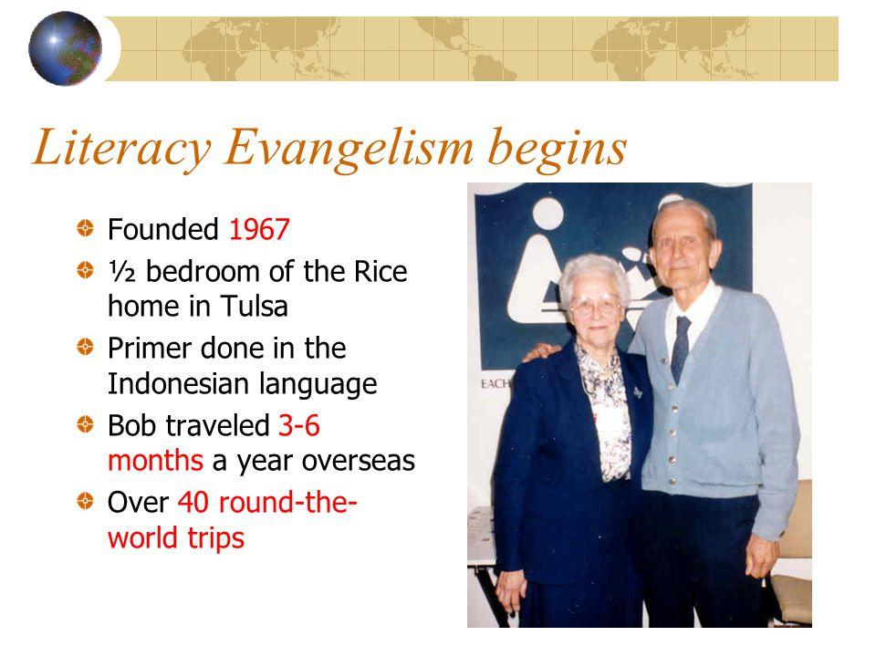 Literacy Evangelism begins
