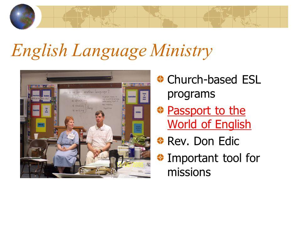 English Language Ministry