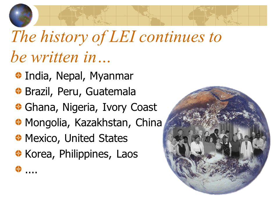 The history of LEI continues to be written in…