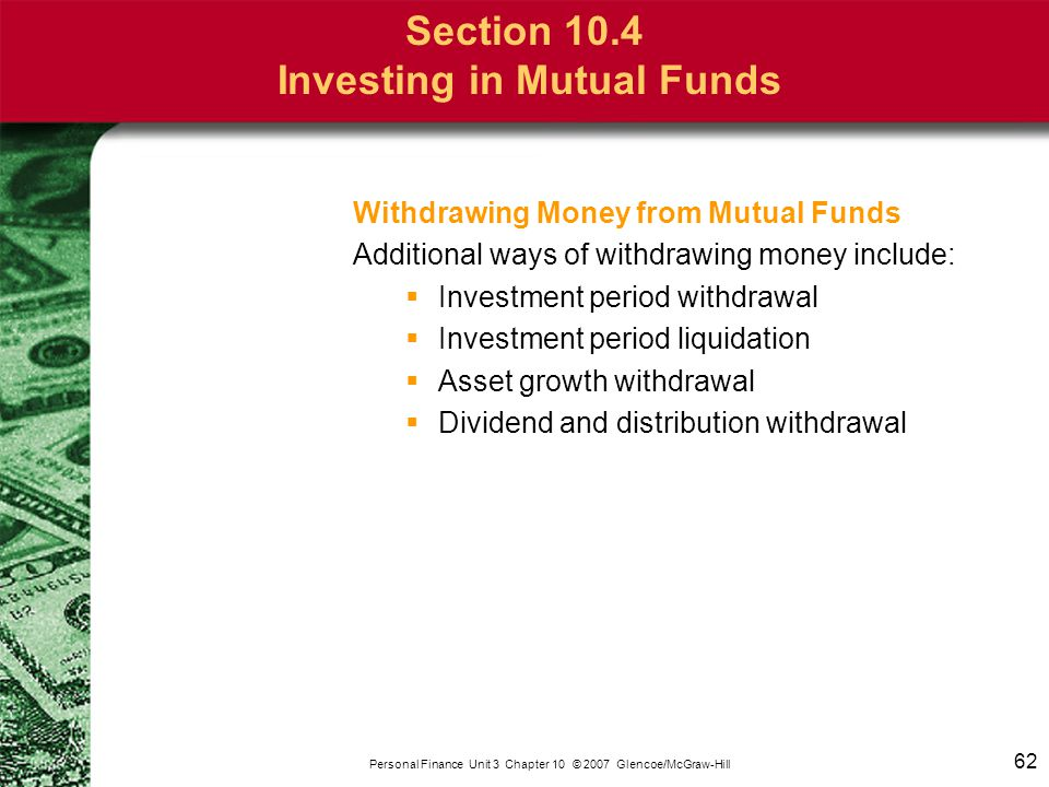 Chapter 10 Bonds and Mutual Funds
