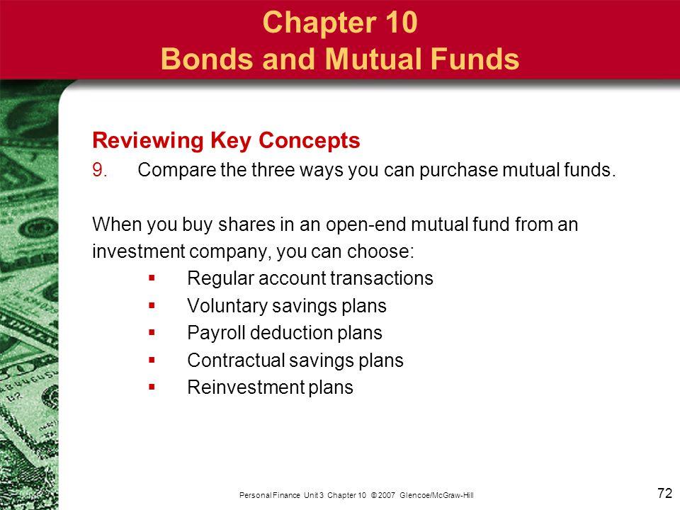 Newsclip: Reliable Bonds