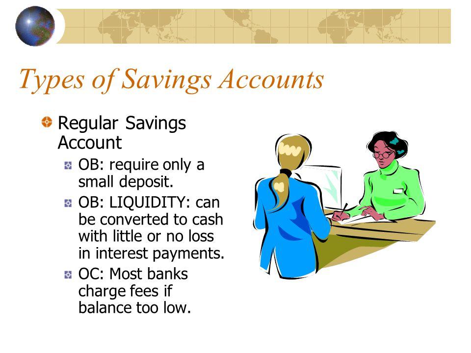 Types of Savings Accounts