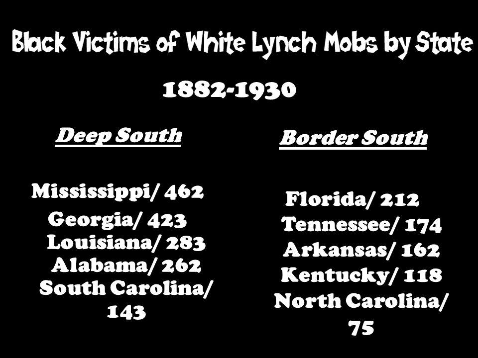 Georgia/ 423 Louisiana/ 283 Alabama/ 262 South Carolina/ 143
