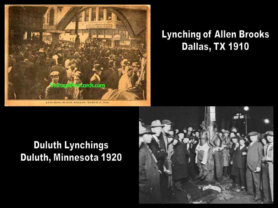 Lynching of Allen Brooks