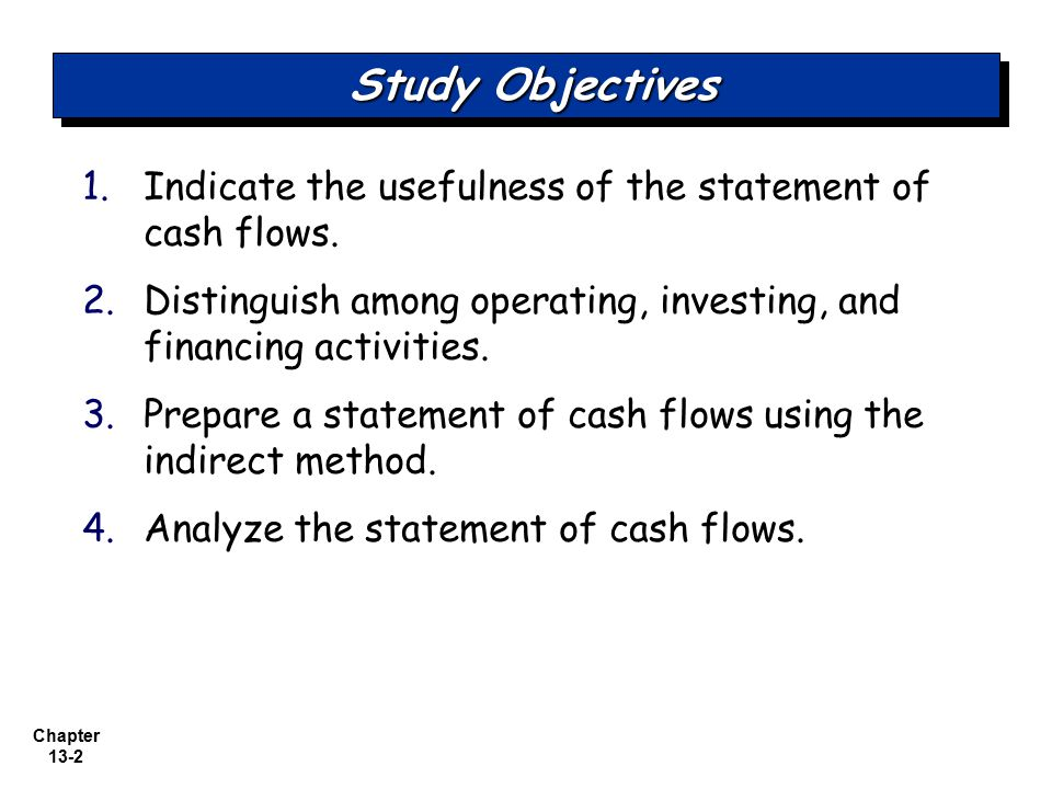 a study of cash flows statement The cash flow statement, also known as the statement of cash flows, is one of  the four main financial  we've got you covered with our online study tools.