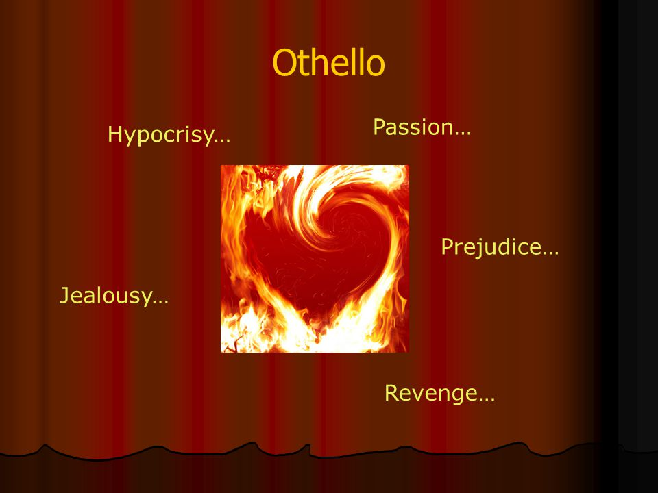 Othello Passion… Hypocrisy… Prejudice… Jealousy… Revenge…