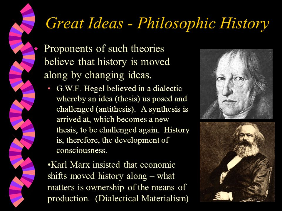 Great Ideas - Philosophic History