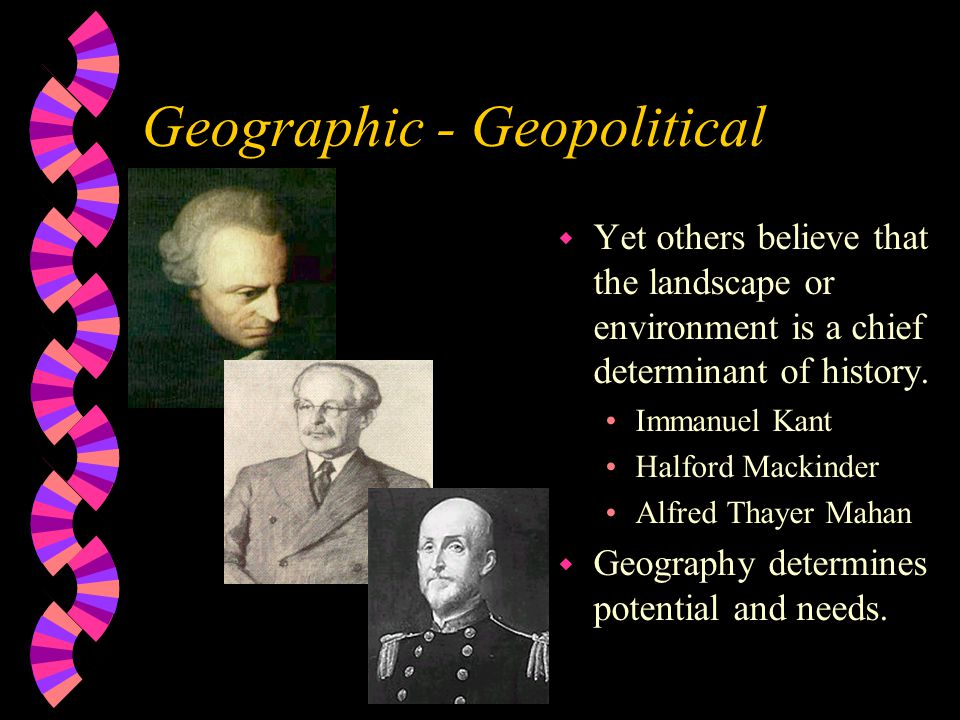 Geographic - Geopolitical