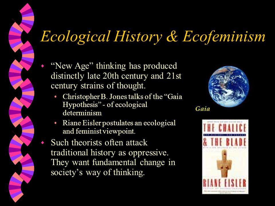 Ecological History & Ecofeminism