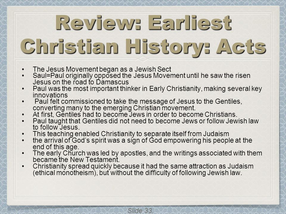 Review: Earliest Christian History: Acts