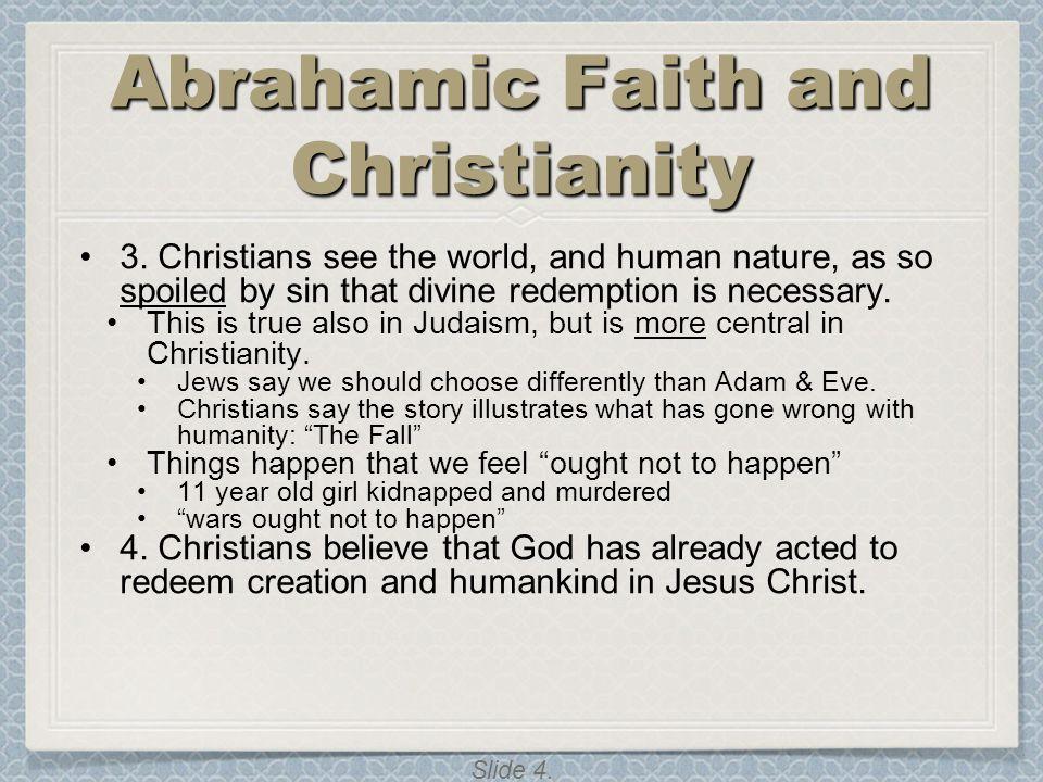 Abrahamic Faith and Christianity
