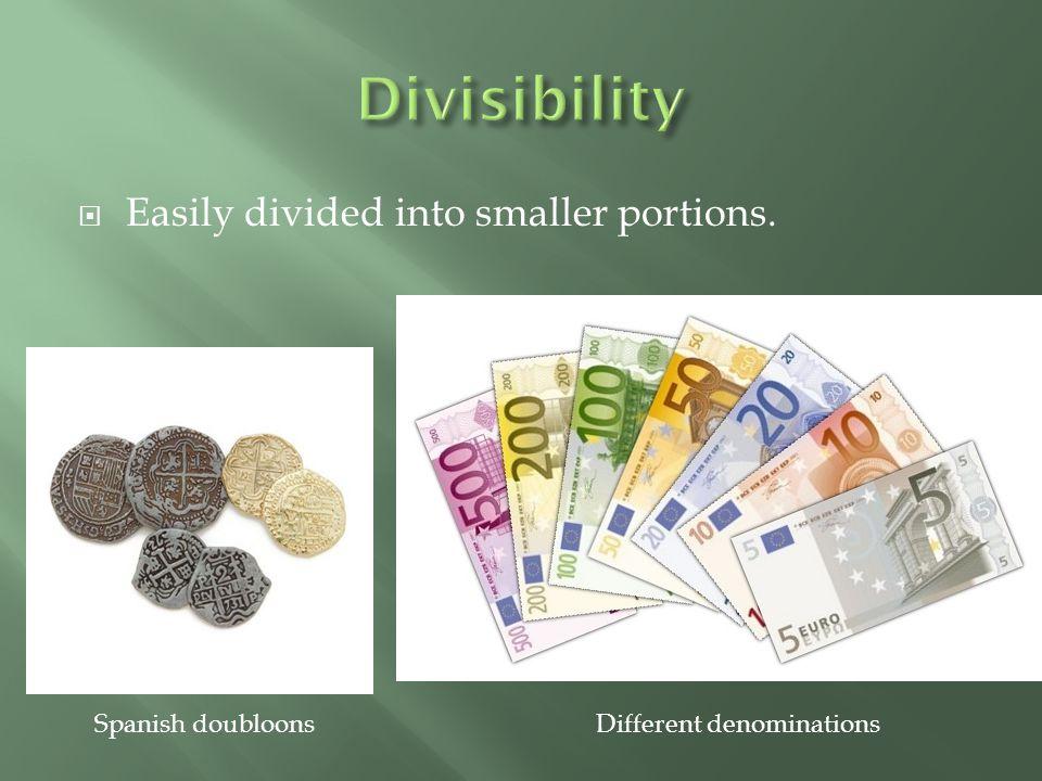 Different denominations