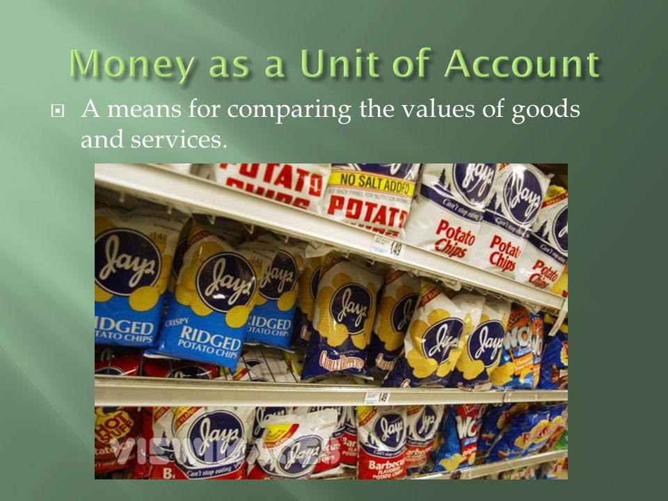 Money as a Unit of Account