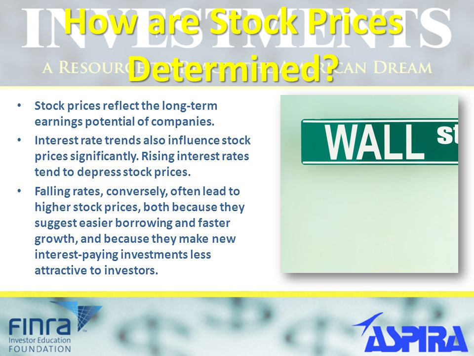 How are Stock Prices Determined