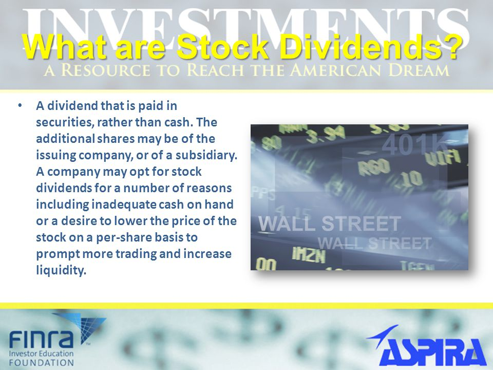 What are Stock Dividends