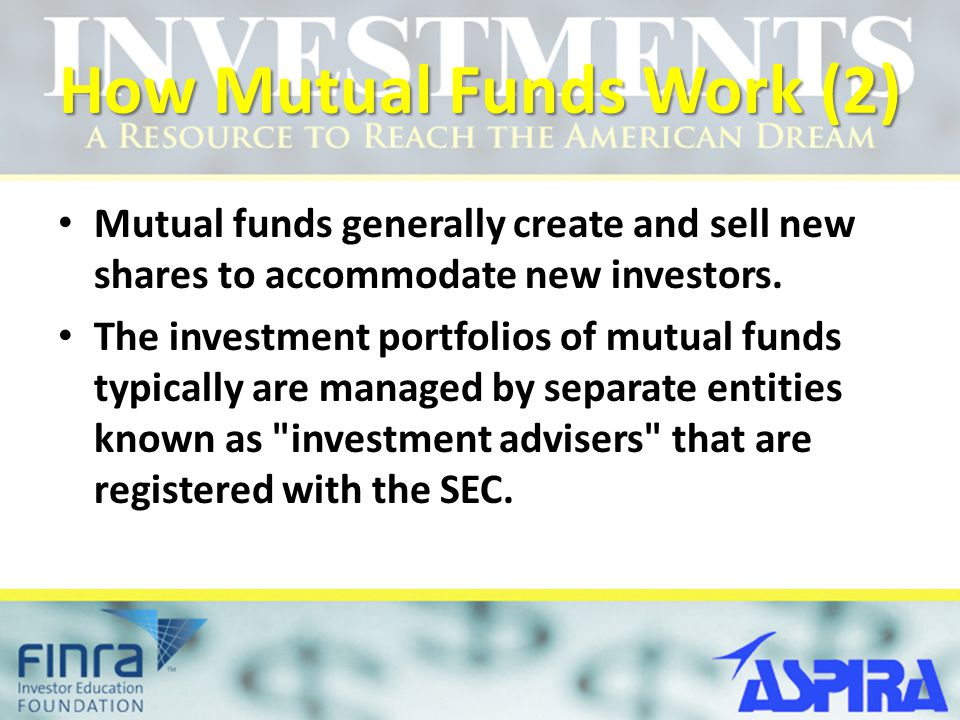 How Mutual Funds Work (2)