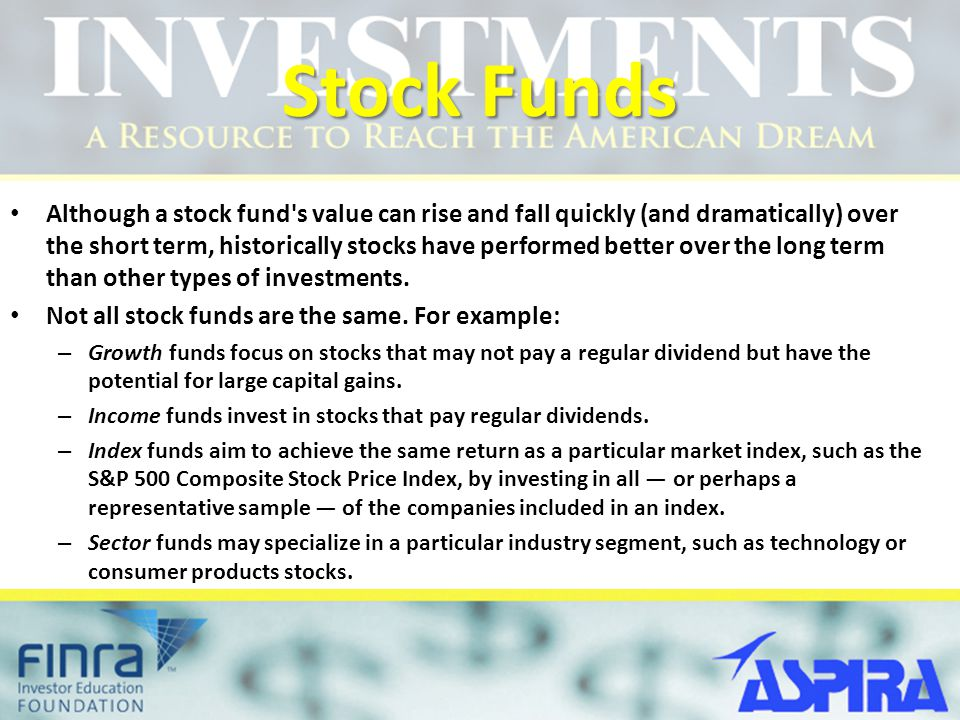 Stock Funds