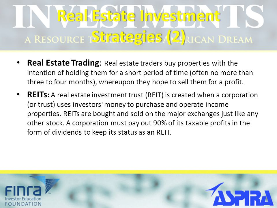 Real Estate Investment Strategies (2)