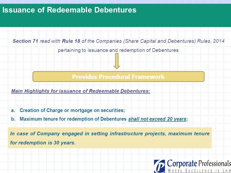 Provides Procedural Framework