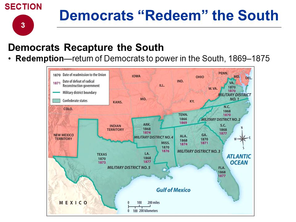 Democrats Redeem the South