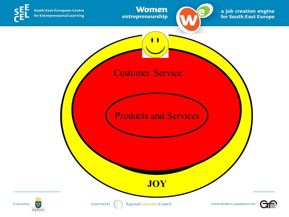 Customer Service Products and Services JOY