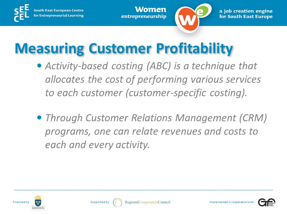 Measuring Customer Profitability