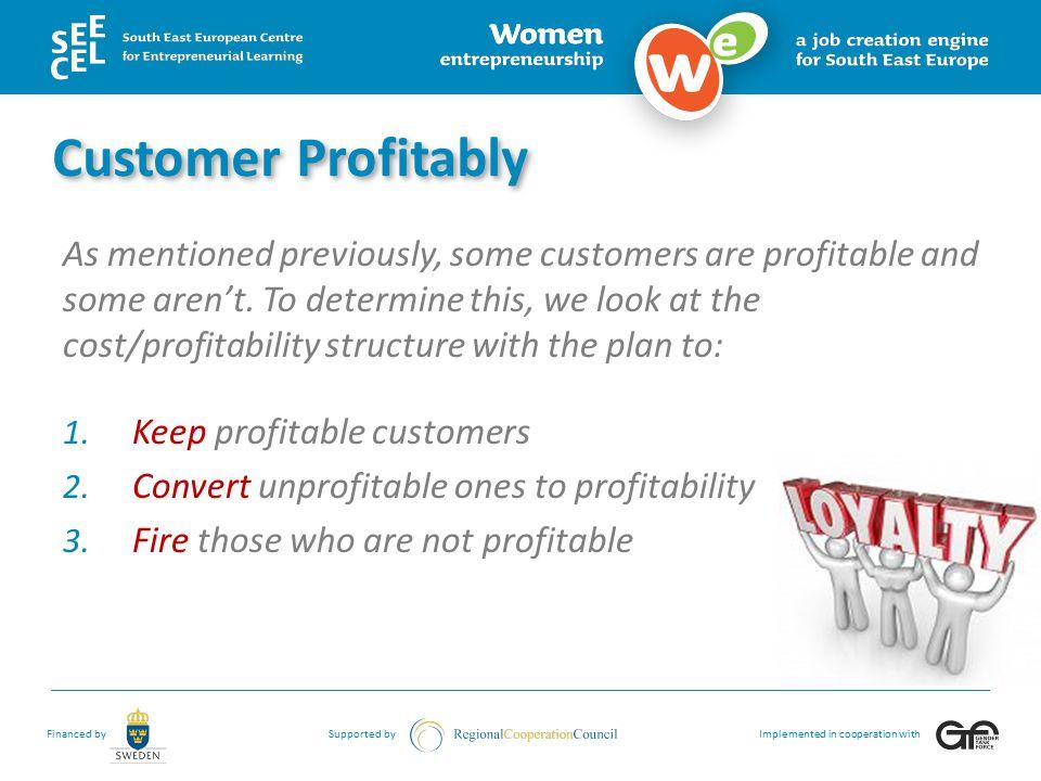 Customer Profitably