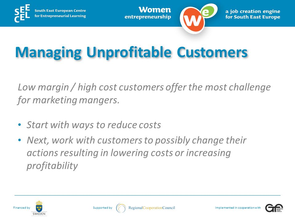 Managing Unprofitable Customers