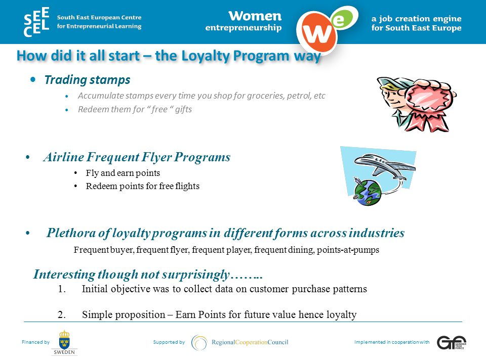 How did it all start – the Loyalty Program way