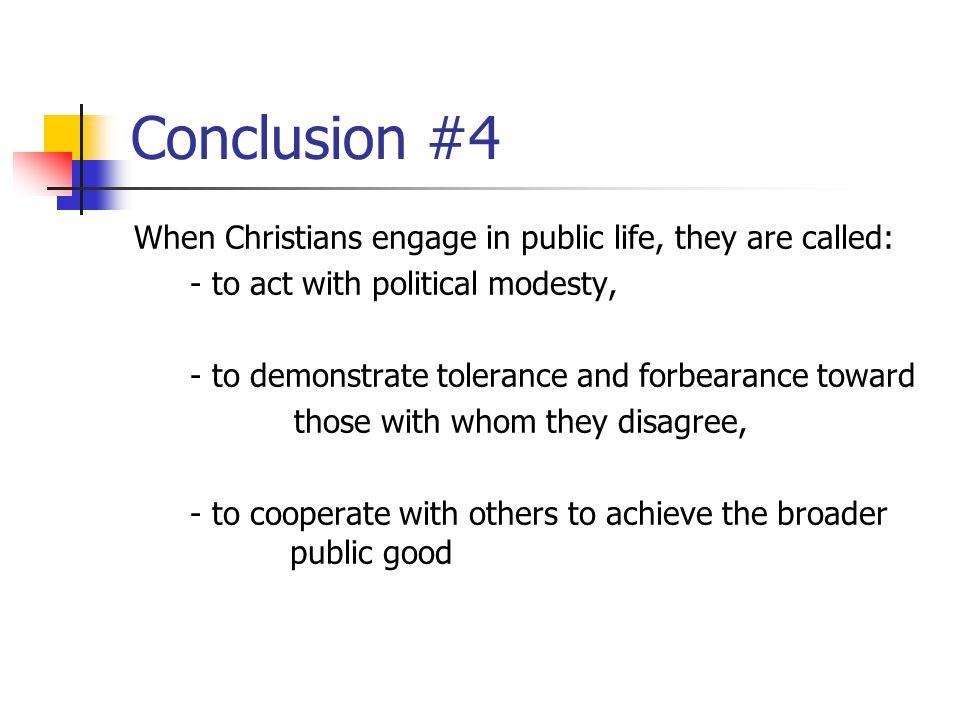 Conclusion #4