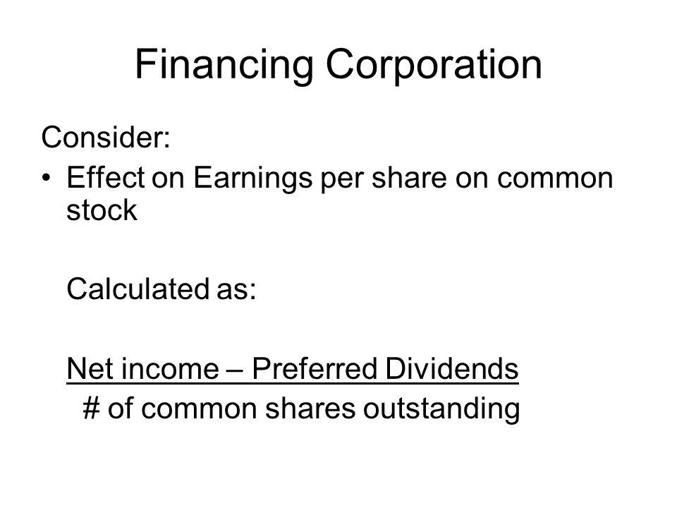 Financing Corporation
