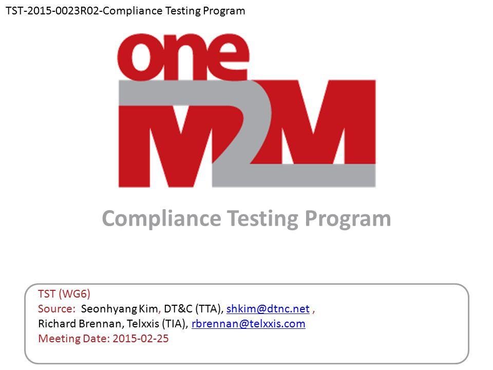 Compliance Testing Program