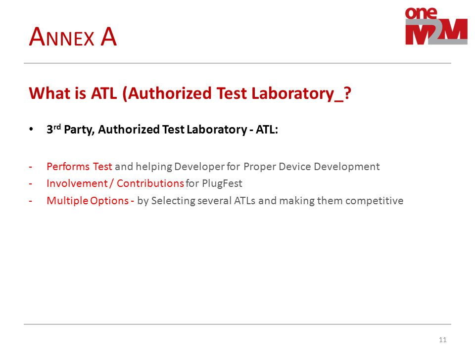 What is ATL (Authorized Test Laboratory_